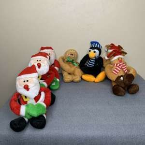 Oriental Trading Holiday Plush Long Arm Decor {H}
